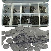 Confezione da 100 pulsanti conduttivi in gomma di ricambio da 1,5 mm a 10 mm, per riparazioni, pulsanti conduttivi per…
