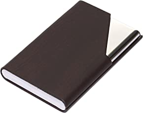 Business card holders buy business card holders online at best nisun leather and stainless steel credit card case business card holder wallet for men reheart Choice Image