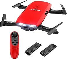 GoolRC T47 6 ejes UAV Gyro WIFI FPV con cámara 720P HD Quadcopter G-Sensor plegable RC Selfie Drone RTF con batería...