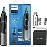 Philips Neustrimmer 3000 Serie - Trim neus-, oor- en wenkbrauwhaar - Volledig afspoelbaar - Huidbeschermer - Roestvrijstalen