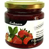 """Xylit Fruchtaufstrich""""Erdbeere"""" ohne Zuckerzusatz, nur mit Xylit gesüßt, 70% Fruchtanteil (mehr als Marmeladen), Low Carb, 200 g"""