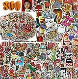 Helvpro 800 Stück Aufkleber Abziehbilder Stickers Graffiti Mix Pack Gemischt Blickfang Möbel Auto Motorrad Fahrrad Laptop Computer Koffer