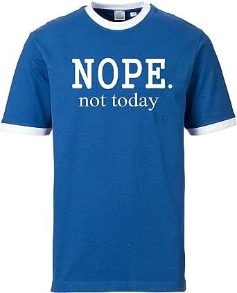 EZYshirt® Nope.not Today Herren Hoodie | Herren
