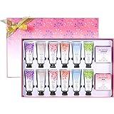 Spa Luxetique 12PC Crèmes pour les Mains, 2 PC Savons de Mains, Coffret Cadeau pour Femmes, 6 Parfums, Idée Cadeau
