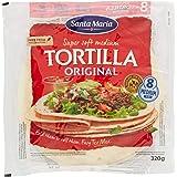 Santa Maria Sud morbido originale tortilla, confezione da 8 pezzi - 320gr