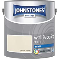 Johnstone's - Wall and Ceiling Paint Matt - Interior Paint - Contemporary Finish - Suitable for Interior Walls and…