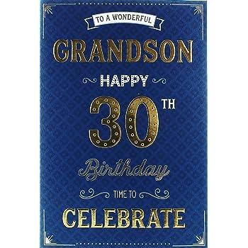 Special Grandson 30th Birthday