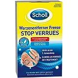Scholl Warzenentferner Freeze - Gezielte Warzenvereisung für Hände und Füße - 16 Sticks und 4 Applikatoren