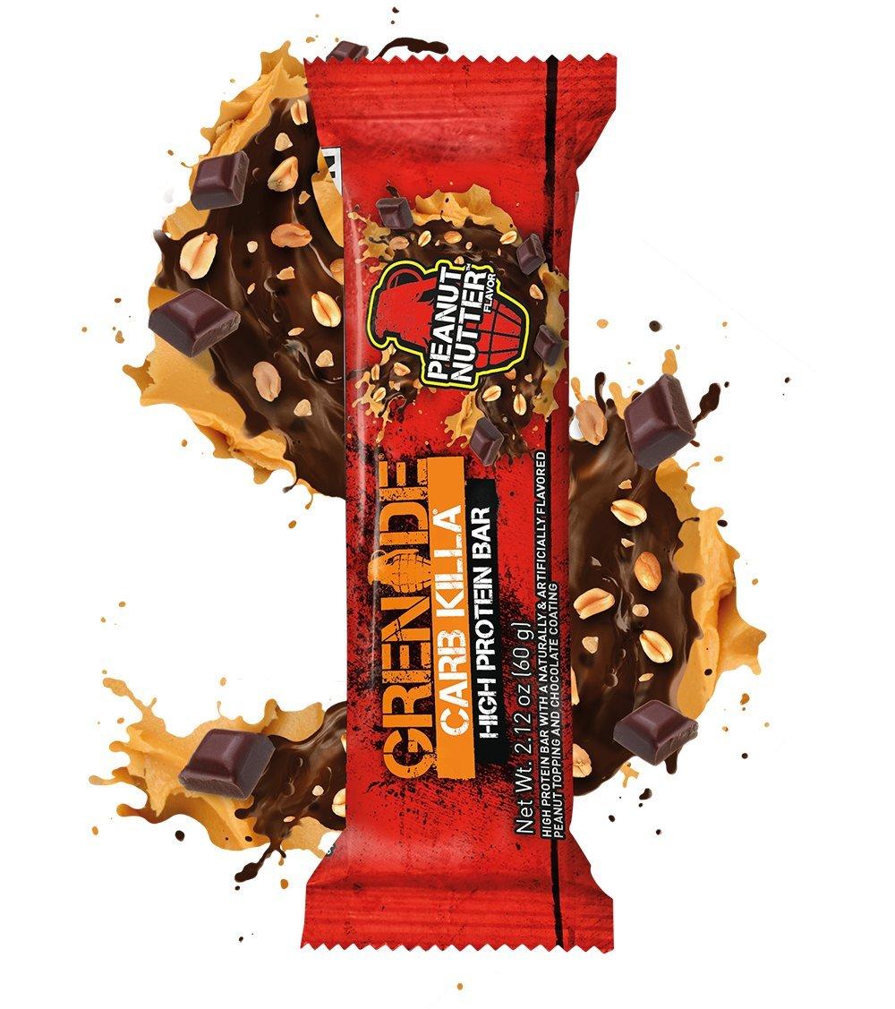 Grenade - Carb Killa Protein Bar Peanut Nutter - 12 Bars 5