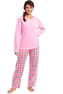 Ladies Short Sleeve Top /& Bottom Set Sleep Wear Nightwear Pyjamas Pjs 8-22