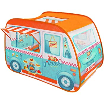 Childrens Pop Up Play Tent Designed Like A Food Truck Ice