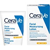 CeraVe AM Facial Moisturising Lotion SPF 25   52ml/1.75oz   Daily Facial Moisturiser with SPF for Normal to Dry Skin