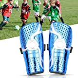 azamp Youth Kids Soccer Shin Pad,Child Soccer Shin Pad,Unisex Perforated Breathable Soccer Leggings,6-12 Year Old Teenager Ca