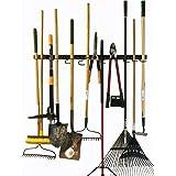 Système de rangement réglable, 120cm, supports muraux pour outils, organiseur mural pour outils, organiseur de garage, organ