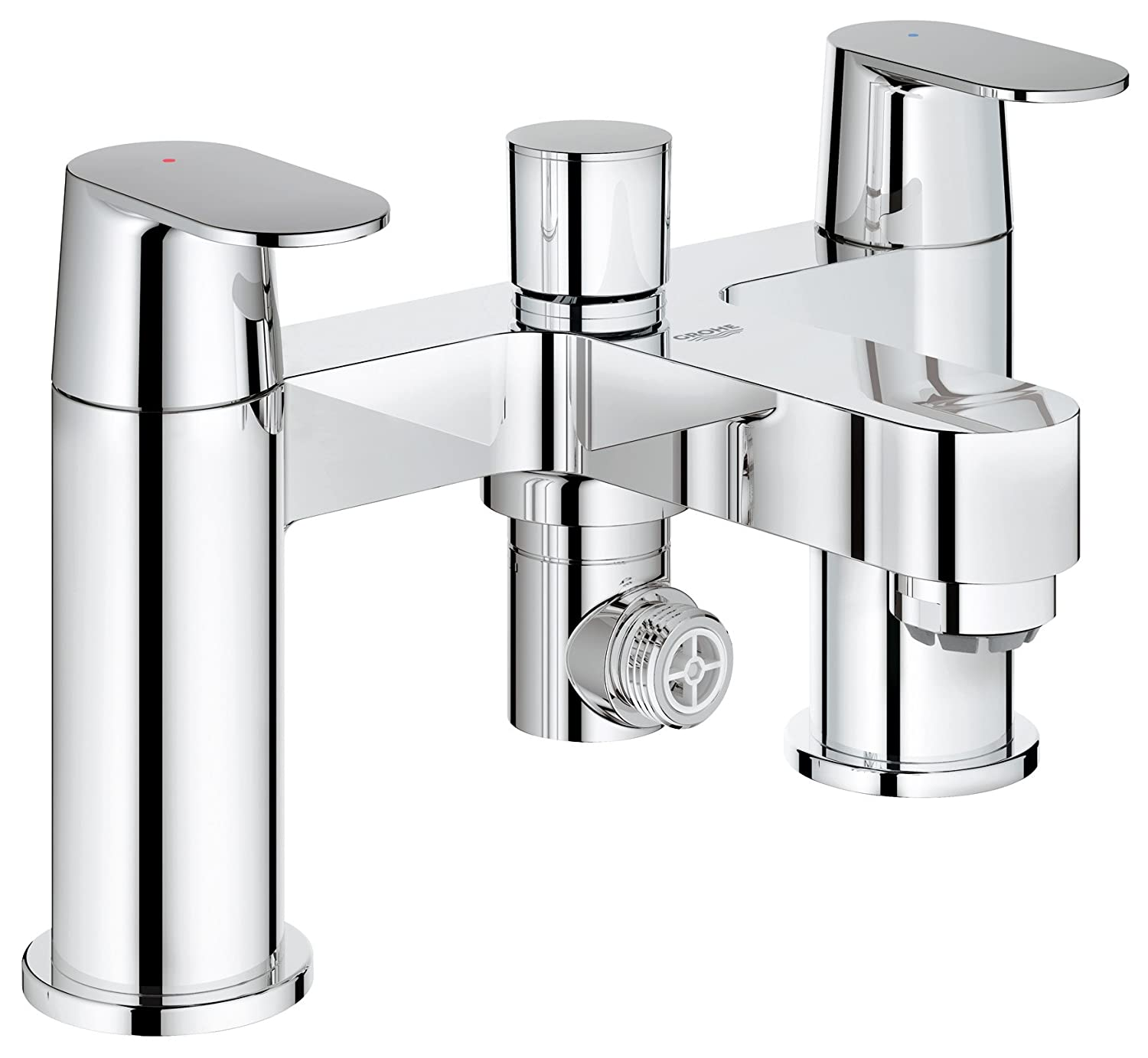 Gut GROHE 25129000 | Eurosmart Cosmopolitan Two-Handled Bath & Shower  CX76