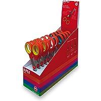 Apli Kids Boîte de 12 ciseaux pour enfants Couleurs assorties