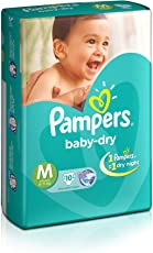Pampers Medium Size Diapers (10 Count)