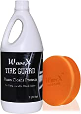 WaveX TG1K Tyre Polish and Sponge Applicator (1 L)