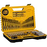 DeWalt 100pc Drill Drive screw driver set, Yellow/Black, DT71563-QZ