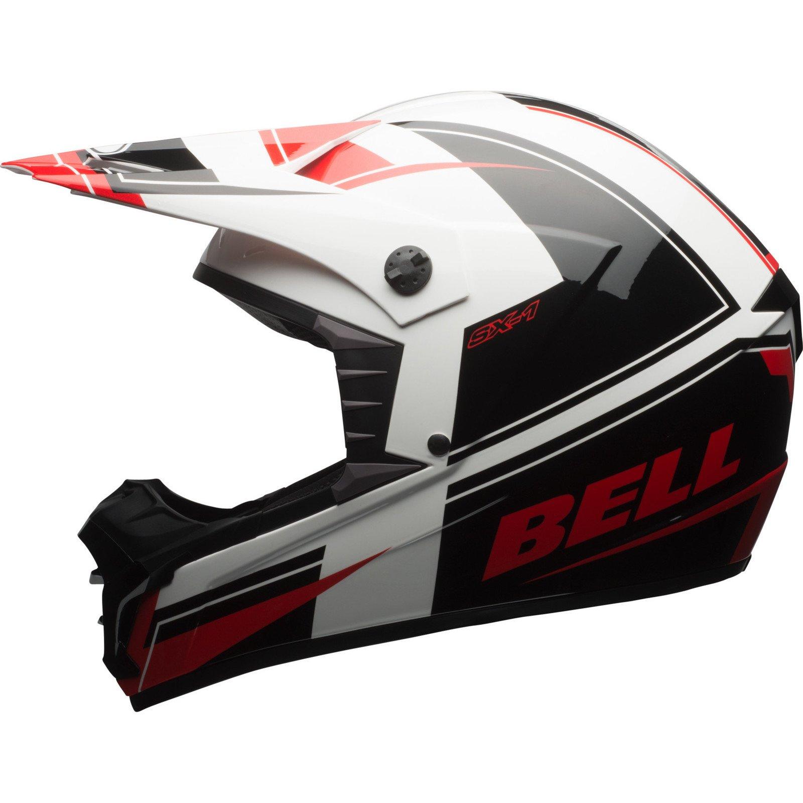 Bell caschi MX 2017sx-1Adult casco, Holeshot rosso/nero, taglia 2x S