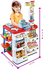 Samaira Toys Home Supermarket Play Set for Kids - Educational and Interactive Toy, Battery Operated
