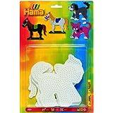 Hama 4556 - Blisterpackung große Stiftplatten, Pferd, Hund, Katze, 3 Stück