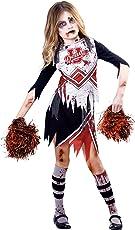 Amscan Zombie-Cheerleader Halloween Kostüm Kinder Mädchen