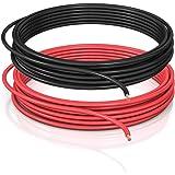DCSk FLRY B, 2,5 mm², 10 m, voertuigkabel, asymmetrisch, 2,50 mm², autokabelstreng, set kleur rood/zwart, 10 m ring