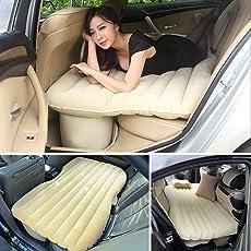 Car Bed Inflatable Crysta Air Mattress Accessories Back Seat Beige Creta Cream Duster Automotive Innova Flatable Rear Sleeping Suv