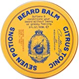 Seven Potions Beard Balm for Men — Conditioning Beard Softener to Nourish Skin, Facial Hair, and Stop Beard Itch — All-Natura
