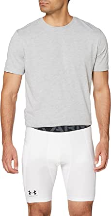 Under Armour UA HG Armour Shorts, Short de sport léger, Short de course pour homme Homme, Black / White, 3XL