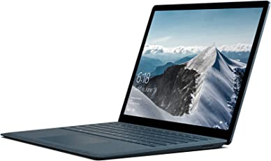 Microsoft Surface Laptop 34,29 cm (13,5 Zoll) Laptop (Intel Core i5, 256GB Festplatte, 8GB RAM, Intel HD Graphics 620, Win 10 S) Kobalt Blau