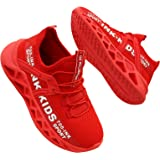 Baskets Enfants Garçon Chaussure de Sport et Course Confortable Mode Sneakers EU 28-39