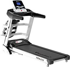 Powermax Fitness TDA-255 (2.0 Hp), Multifunction Motorized Treadmill with Auto Incline