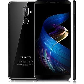 CUBOT X18 PLUS (2018) Android 8, 4G-LTE Smartphone Libero, 5.99 FHD Proporzione 18:9, Memoria 4GB + 64GB, Batteria 4000mAh, Fotocamera 20MP + 2.0MP / 13MP, GPS, Mobile Phone (Nero) [CUBOT OFFICIALE]