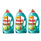 Persil Low Foam Concentrated Detergent Power Gel - Pack of 3 Bottles x 5 Liter