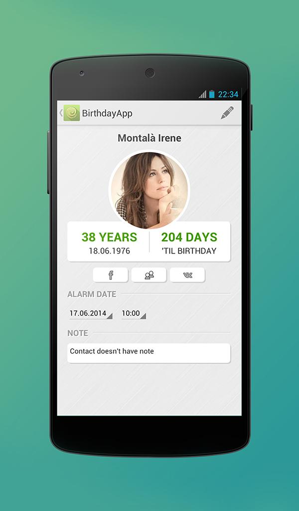 Birthday App Amazonde Apps Fur Android