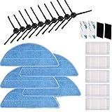 Brosse latérale neuf Filtre HEPA Chiffon Velcro pour CHUWI Ilife Ilife 5Mop V5S V3V3+ V5V5Pro X5Ilife v5pro Aspirateur Pièces