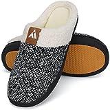 Mishansha Unisex Pantofole Donna Uomo Memory Foam Caldo Comode Antiscivolo Inverno Home Scarpe