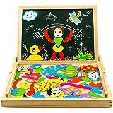 yoptote Lavagna Magnetica per Bambini Puzzle Bambini 3 Anni Giochi Montessori Giochi in Legno per Bambini 3 4 5 Anni