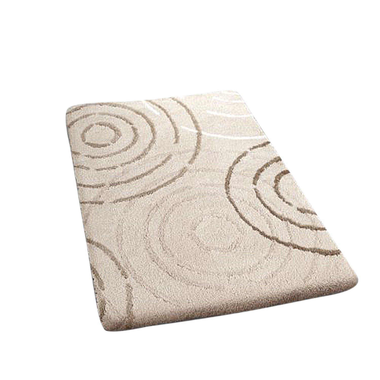 Kleine Wolke 5518289225�Splash Tappeto di Bagno poliacrilico Bianco, Poliacrilico, bianco, 50 x 60