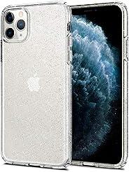 Spigen Liquid Crystal Glitter Serisi Kılıf iPhone 11 Pro ile Uyumlu / 4 Tarafı Tam Koruma - Crystal Quartz