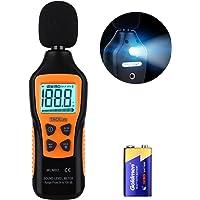 TACKLIFE Sonomètre 30 DB - 130 DB MLM02 Décibelmètre/Testeur de Décibel/ 2 Modes Gamme Rapide/Lent/Écran Rétroéclairé et…