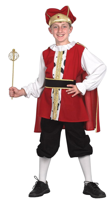 Bristol Novelty CC558 Medieval King Child\u0027s Costume, Small, 110 ...