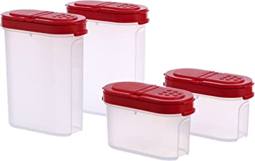 Tupperware Modular Spice Shakers Set, Set of 4 (128)