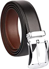 ZORO Men's Vegan Leather Black Belt(1 Year Guarantee) - belts for mens - belts for men casual stylish leather- belts for men formal branded