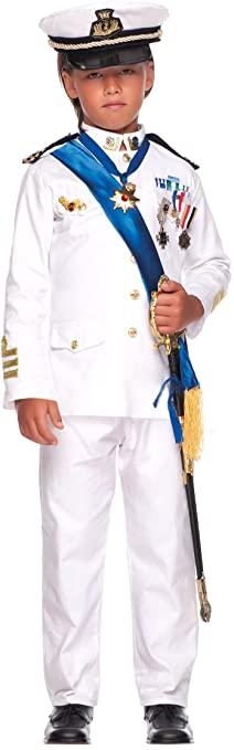 Vestito di carnevale ufficiale della marina