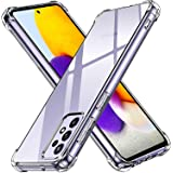 back Cover Defender For For Samsung Galaxy A52 Anti-Shock High Protection - Clear