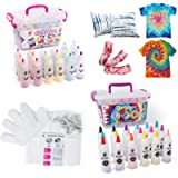 TBC The Best Crafts Tie-Dye Art Kit for over 18 Kids to Play, Easy & Fun