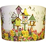 Bird Tables Lampshade multi floral.